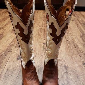 Tony Lama square toe boots
